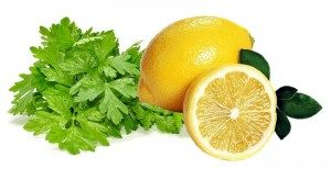 петрушка с лимоном