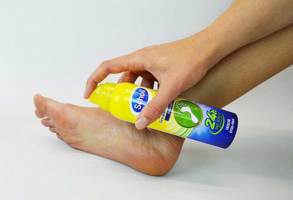 дезодорант на ноги от пота