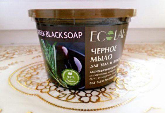 черное мыло