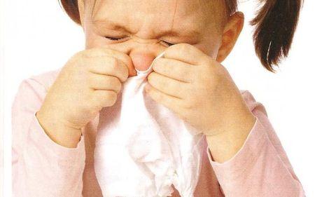 У ребенка заложен нос, что делать?