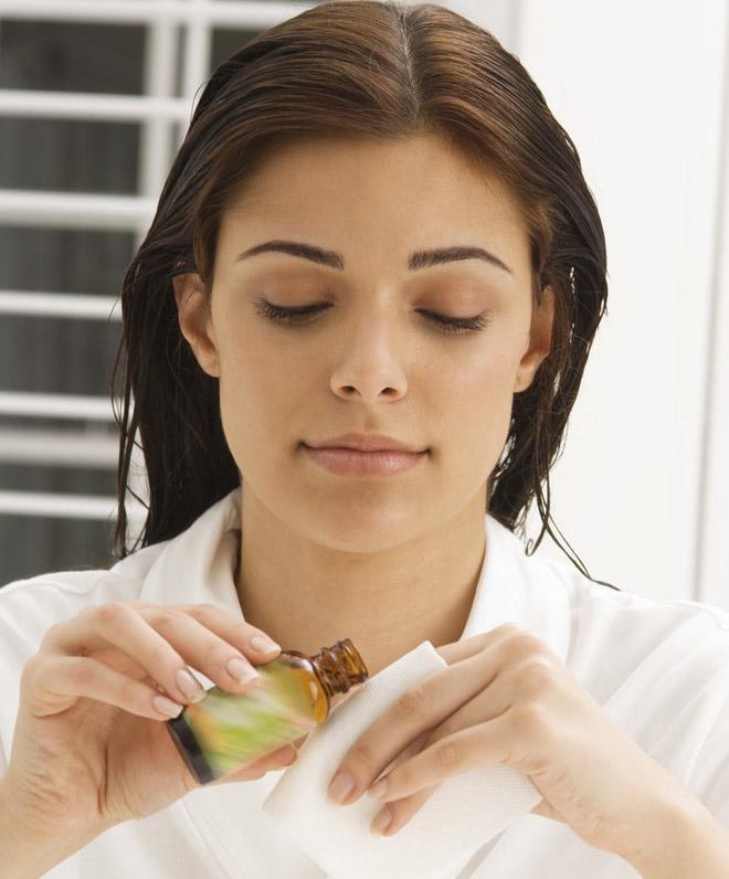 Уход за любым типом кожи лица эфирными маслами