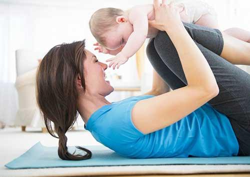 После родов нужно заниматься спортом