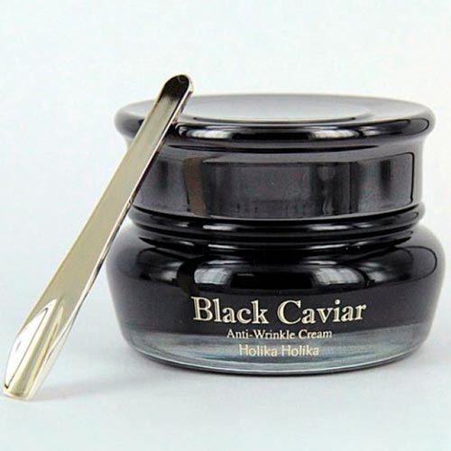 Крема с составом черной икры