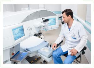 Лазерное лечение близорукости (миопии)