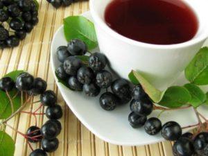 чай из аронии