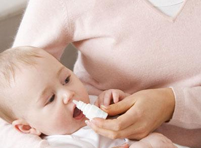 Промывание носа новорожденному