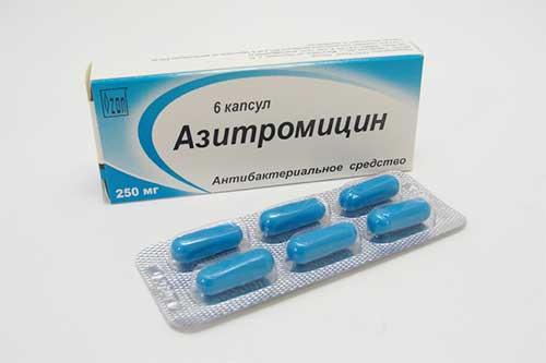 Азитромицин от прыщей