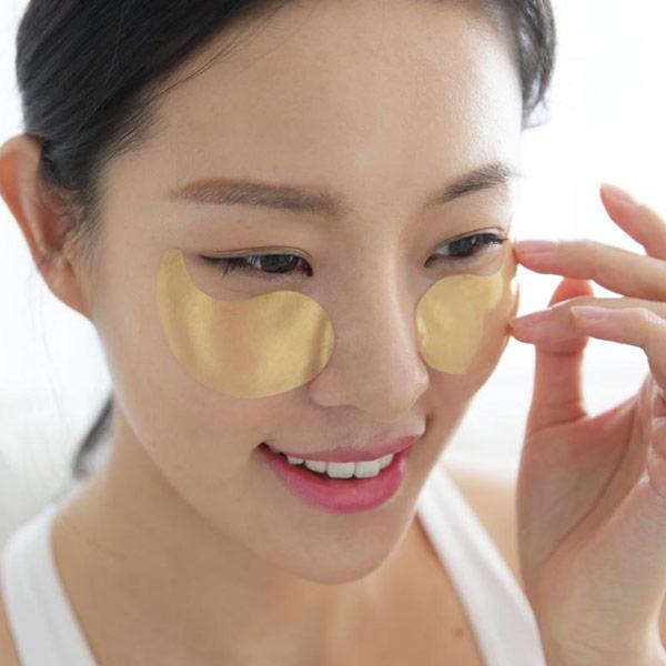 патчи под глазами у кореянки