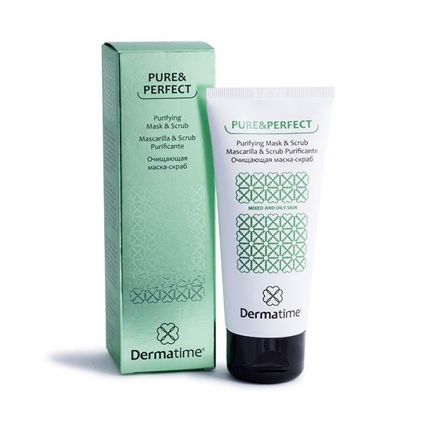 Очищающая маска-скраб «Pure&Perfect Dermatime»