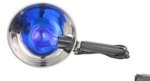 Синяя лампа для прогревания пазух