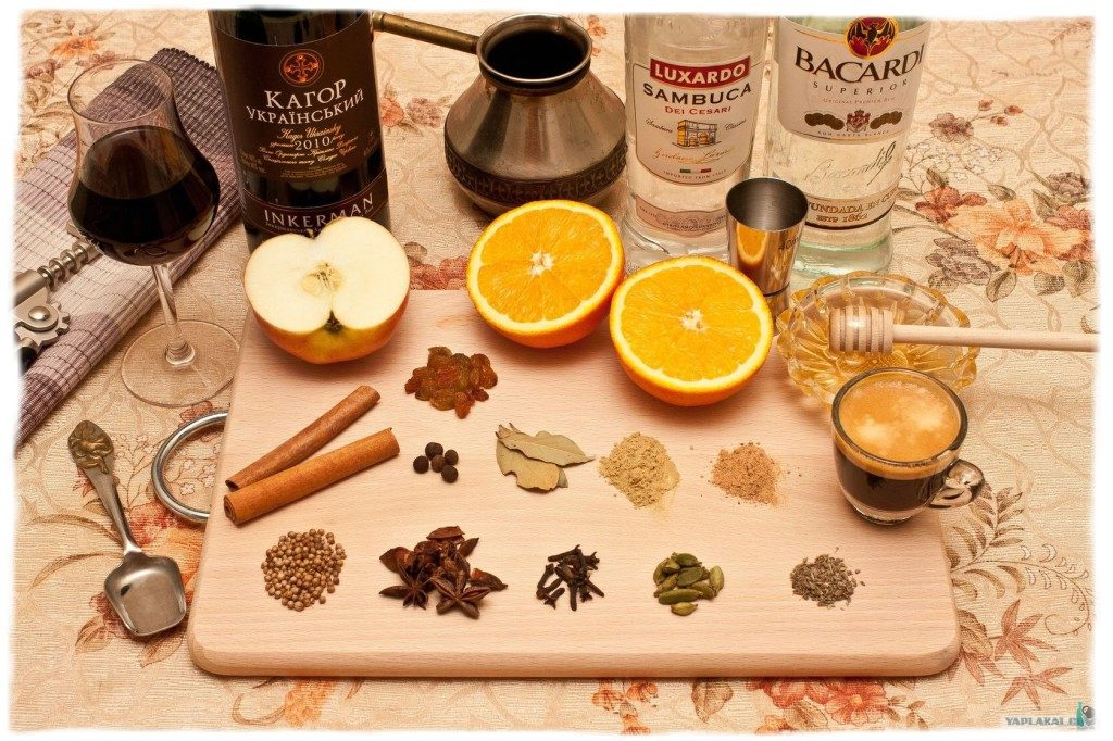 Глинтвейн – напиток для зимнего вечера, помощь в готовке