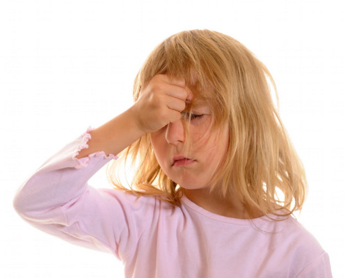Боль в области лба у ребенка