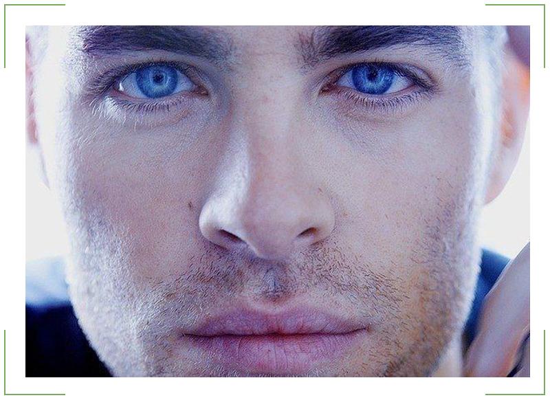 голубые глаза 3