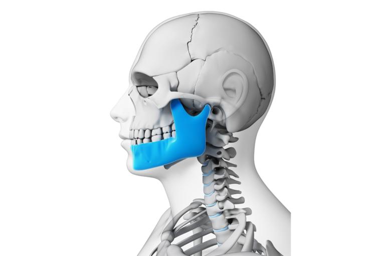 При открывании рта хрустит челюсть