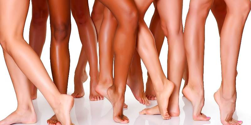 Прыщи на ногах у женщин причины