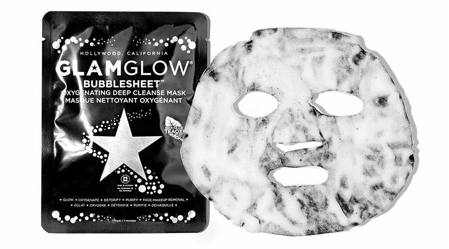 Глубокоочищающая кислородная маска «BUBBLESHEET GlamGlow»