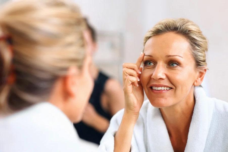 Эффективные методы и средства разглаживания морщин на лице заставим кожу сиять в 55!