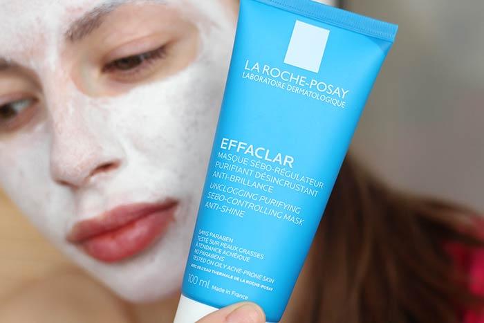 Очищающая матирующая маска для жирной проблемной кожи «Effaclar Mask La Roche-Posay»