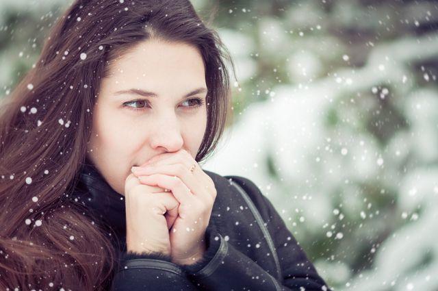 Зима портит кожу рук