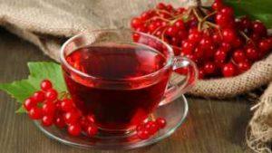 Чай из брусники и калины