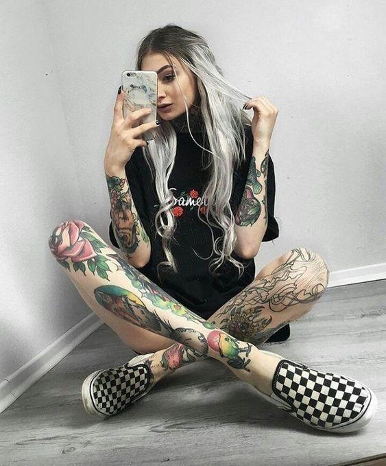 Уход за кожей при набитой татуировке