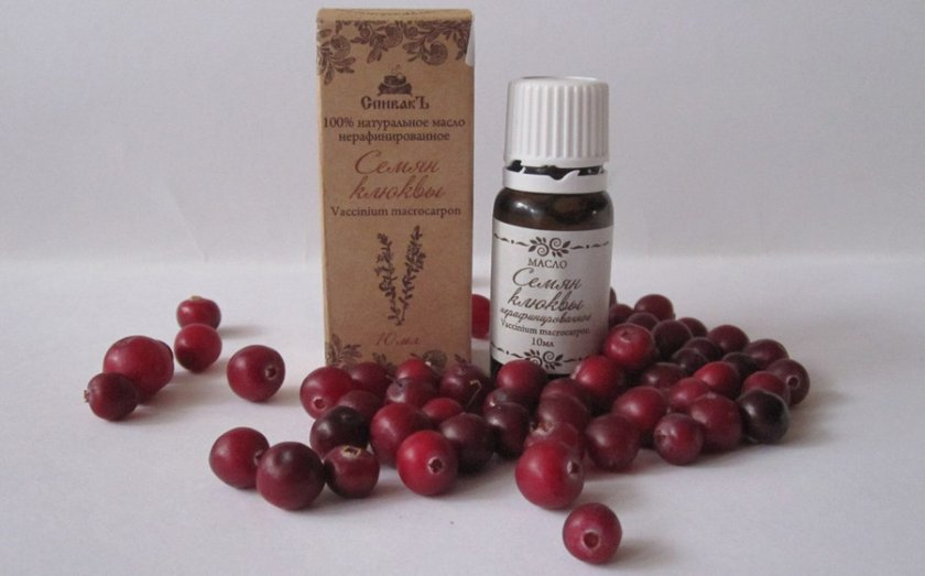 масло семян клюквы