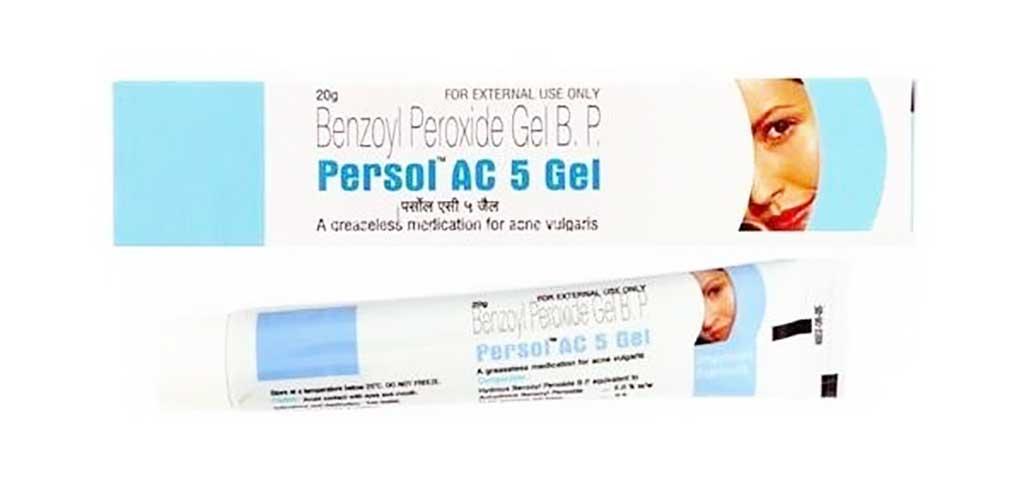 Persol gel от прыщей
