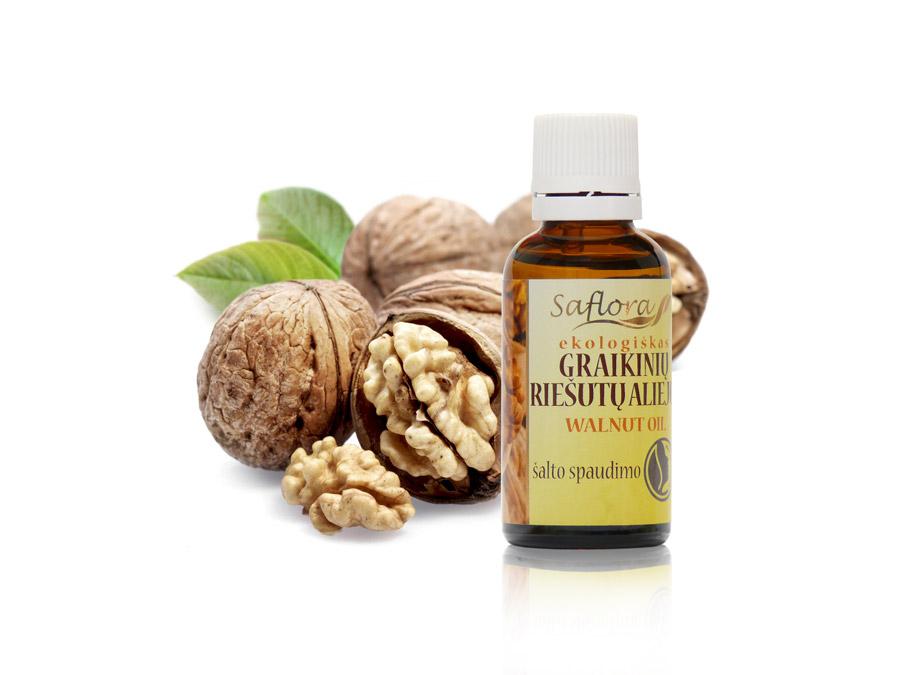 Действие масла грецкого ореха на кожу, что лечит?