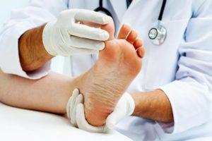 Врач смотри пальцы ног