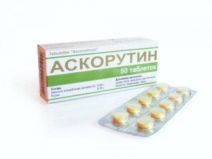 Аскорутин таблетки варикоз