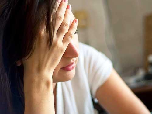 Неконтролируемые действия при стрессе