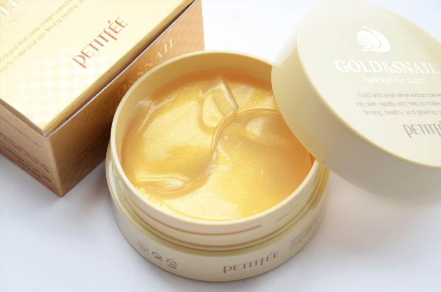 «Petitfee Gold & Snail Hydrogel Eye Patch» патчи под глаза