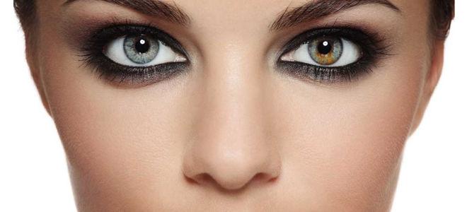 Разные глаза у человека как называется
