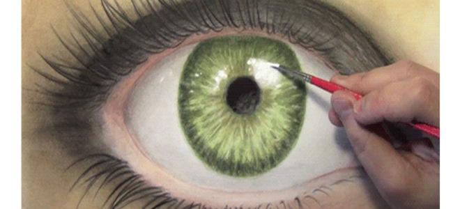 Самый редкий цвет глаз в мире