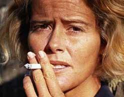 курит, морщины, сигареты