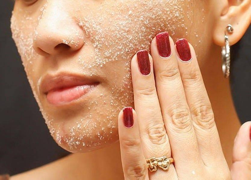 Применение морской соли для придания красоты и здоровья коже