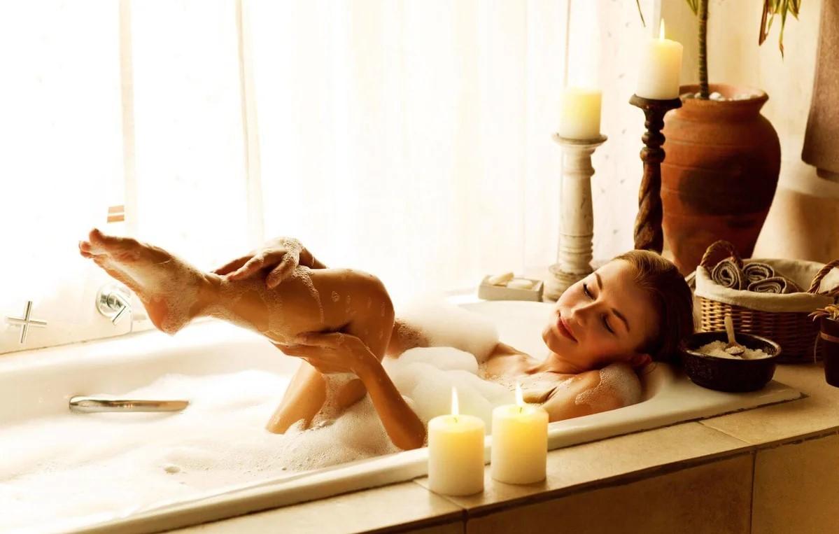 массаж в ванне