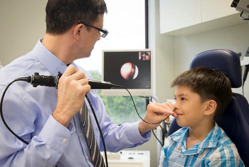 Эндоскопическое исследование носа