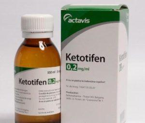 капли кетотифен