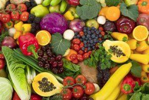 Витамины содержатся в овощах и фруктах