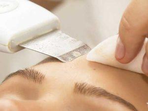 Действие ультразвука на кожу