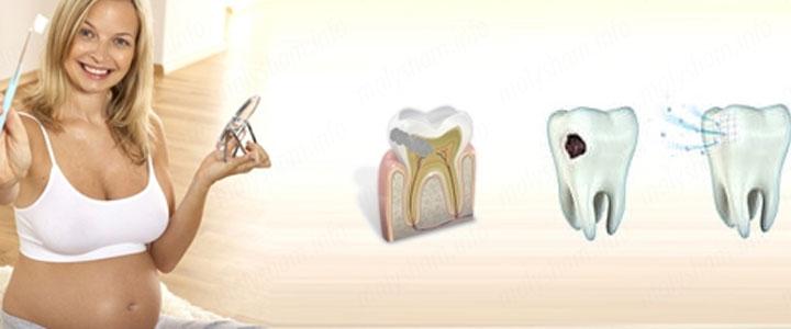 При беременности зубы крошатся: что делать