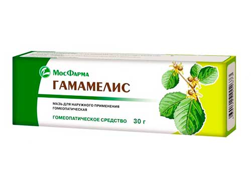 Гамамелис мазь для наружного применения