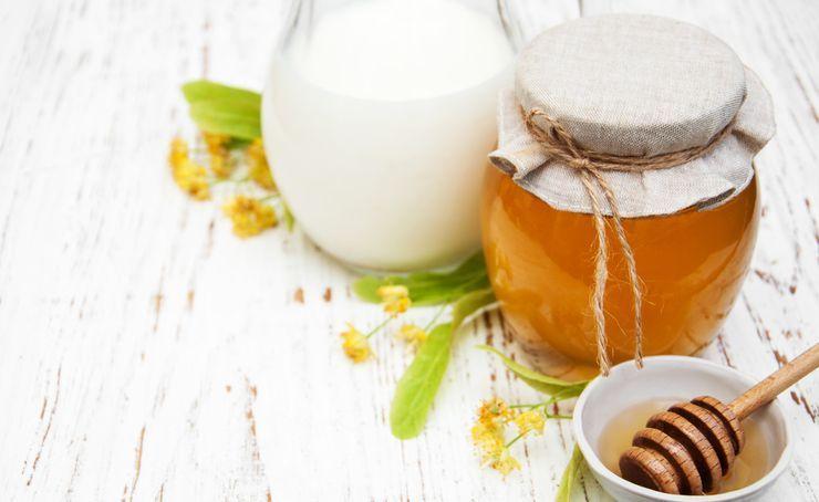 Молоко полезно при наружном применении, 5 масок