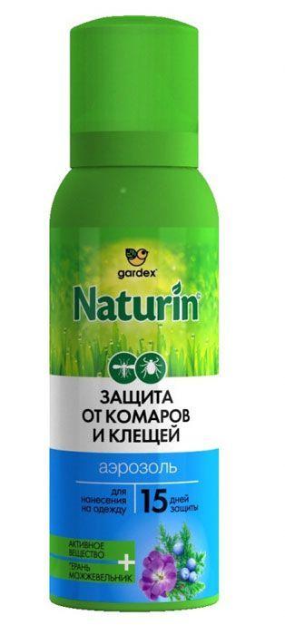 Gardex Naturin спрей от комаров и клещей