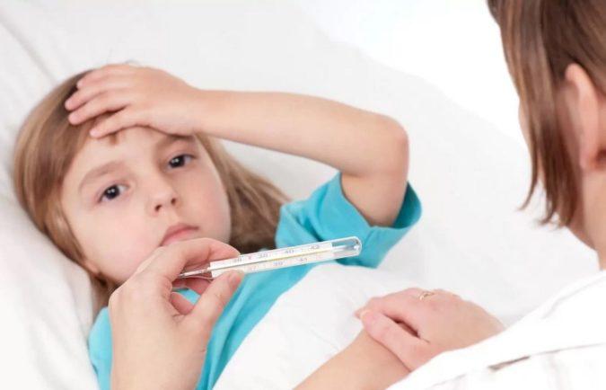 Детский стоматит сопровождается температурой