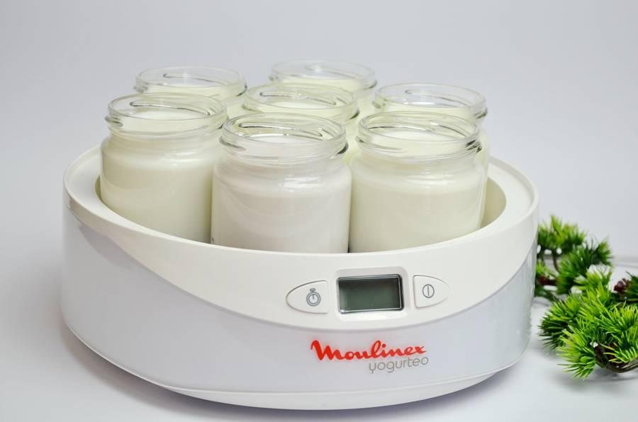 йогурт домашний, натуральный