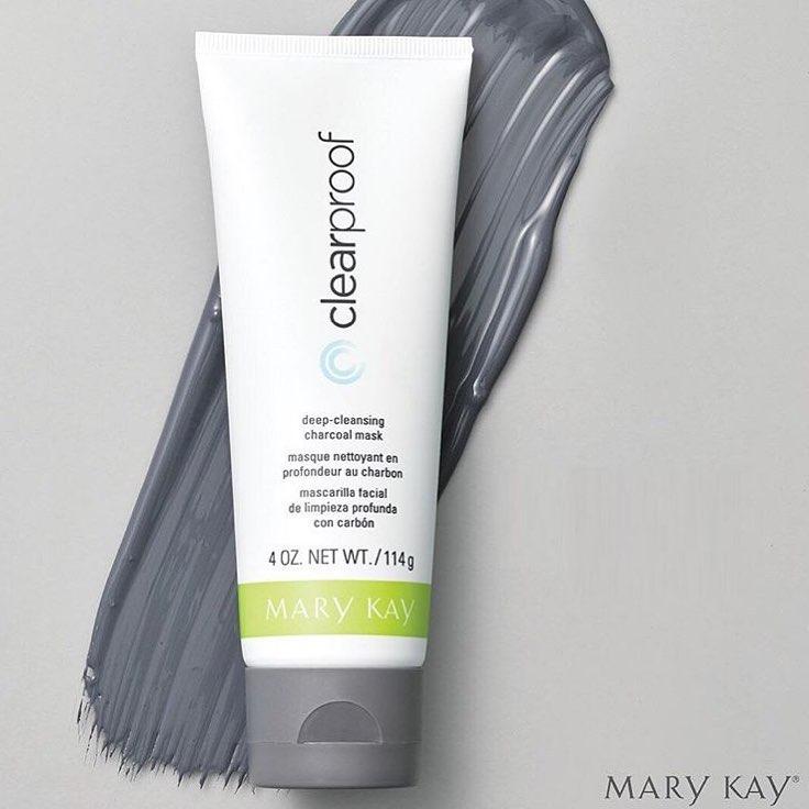 Маска на основе угля для глубокого очищения кожи лица «Clear Proof Mary Kay»