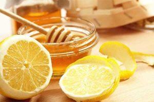 Маска с лимоном и медом