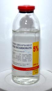 Раствор гидрокарбоната